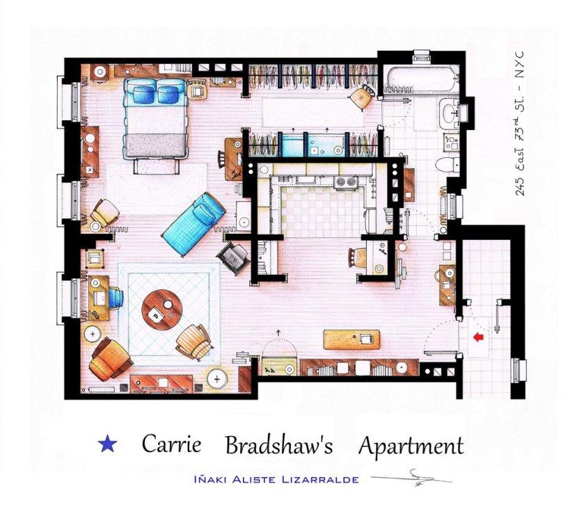 Iñaki Aliste Lizarralde - Carrie's Apartement