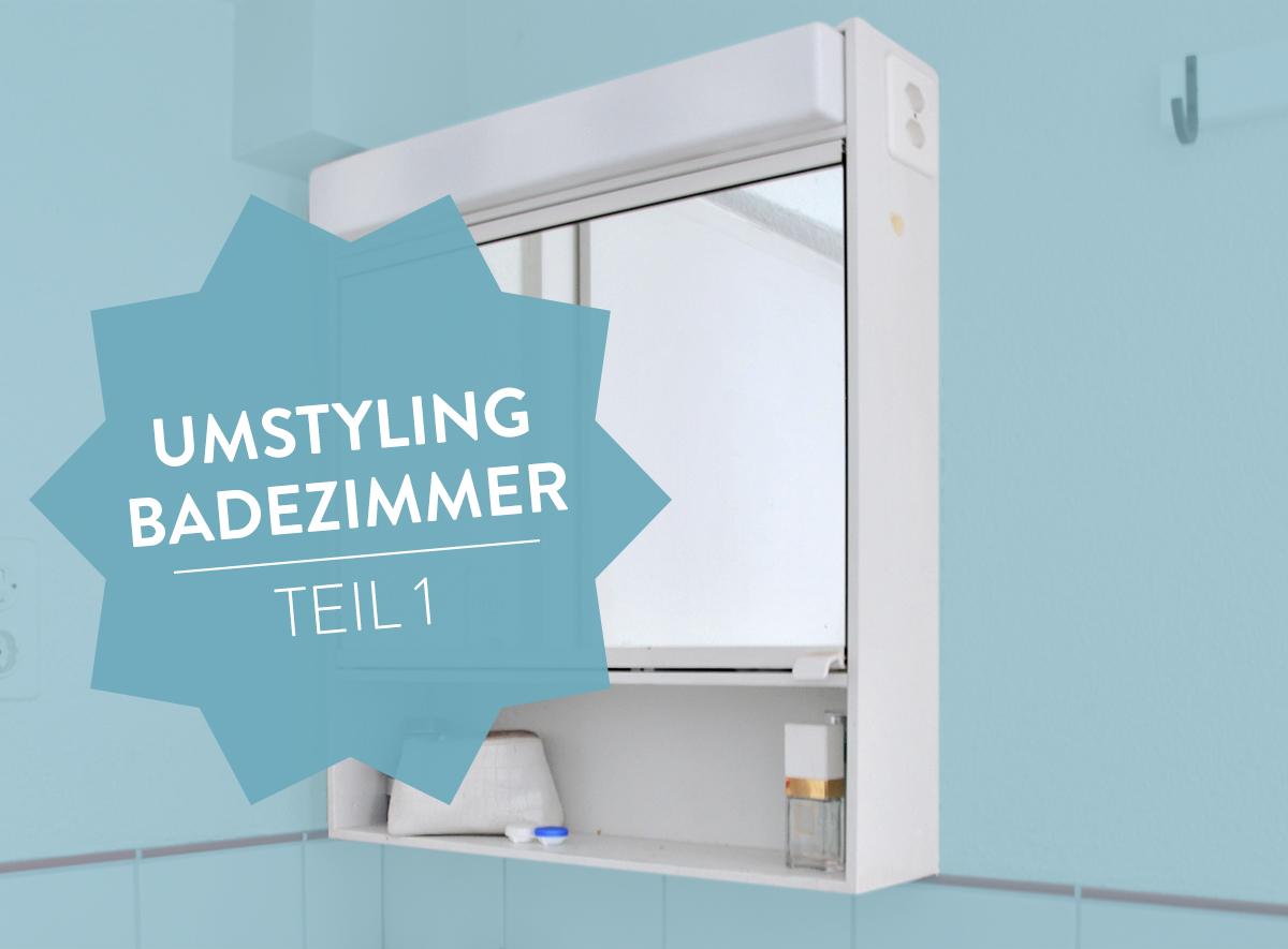 umstyling badezimmer teil 1 | anu poulain, Badezimmer ideen
